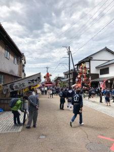 三国祭り 山車