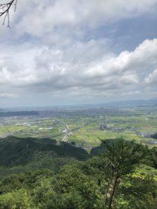 文殊山山頂からの眺め